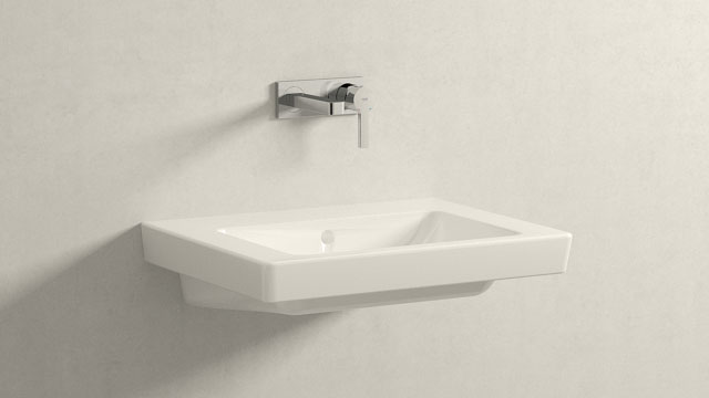 GROHE LINEARE M-VELIKOST + Villeroy&Boch Subway 2.0