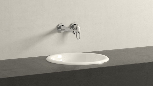 GROHE Eurosmart NEW M-TAILLE + Villeroy&Boch Loop & Friends