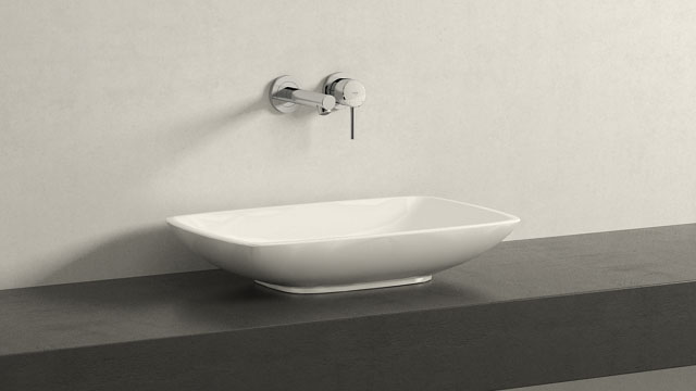 GROHE Concetto M-TAILLE + Villeroy&Boch Loop & Friends