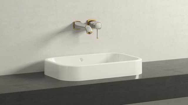 GROHE GRANDERA M-SIZE + Duravit Happy D.2
