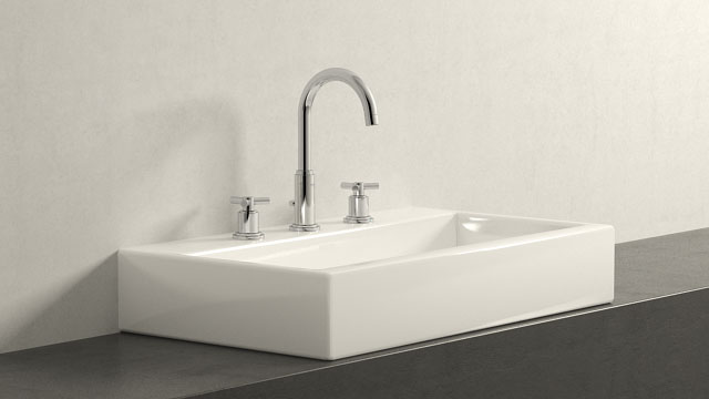 GROHE ATRIO L-ГАБАРИТЫ + Laufen Living City