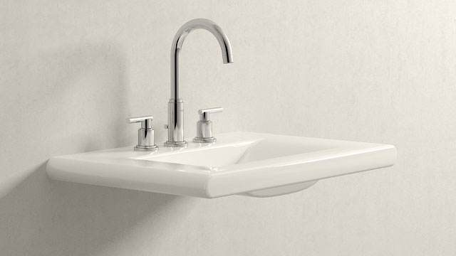GROHE Atrio L-TAILLE + Laufen Living Style