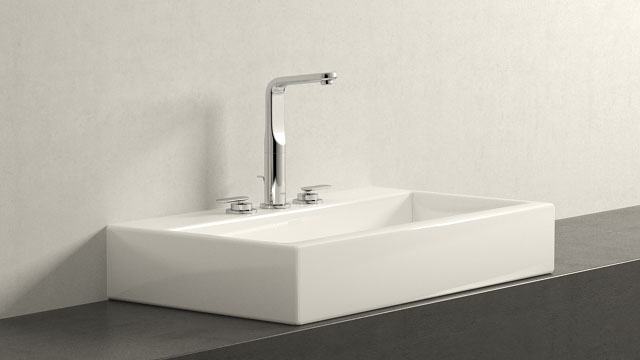 GROHE Veris LWIELKOŚĆ + Laufen Living City