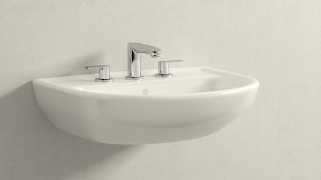 GROHE Eurostyle Cosmopolitan S-ГАБАРИТЫ + Laufen Pro B
