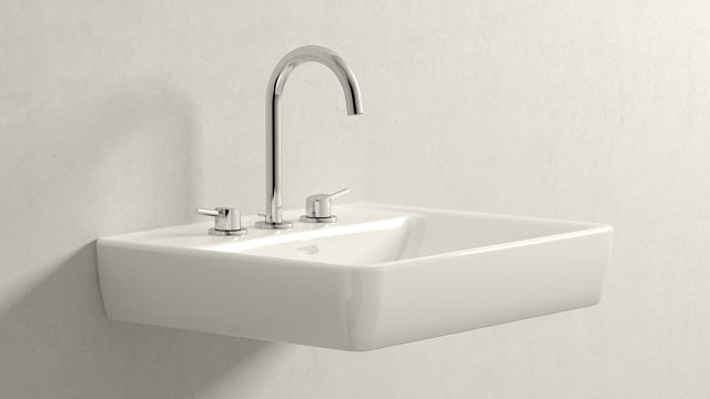 GROHE Concetto L-ГАБАРИТЫ + Laufen Pro A