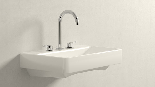 GROHE Concetto L-TAILLE + Laufen Pro S