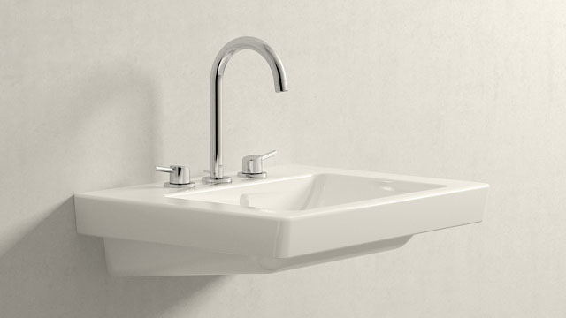 GROHE Concetto L-ГАБАРИТЫ + Villeroy&Boch Subway 2.0