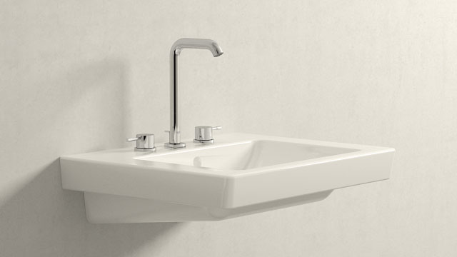 GROHE Essence NEW L-TAMAÑO + Villeroy&Boch Subway 2.0