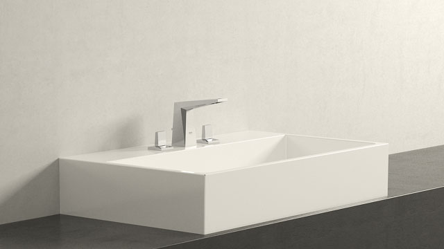GROHE Allure Brilliant SΜΕΓΕΘΟΣ + Burgbad Crono
