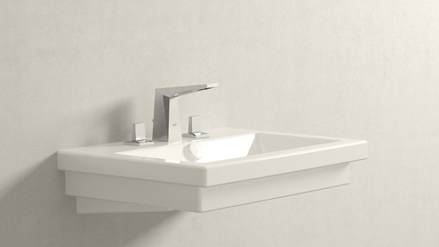 GROHE Allure Brilliant SΜΕΓΕΘΟΣ + Duravit 2nd floor