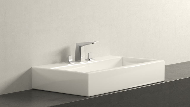 GROHE Allure Brilliant SWIELKOŚĆ + Laufen Living City