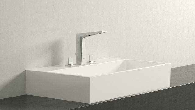 GROHE Allure Brilliant LΜΕΓΕΘΟΣ + Burgbad Crono