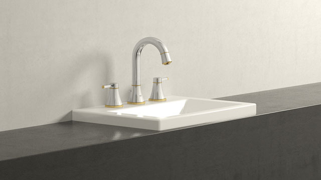 GROHE GRANDERA L-TAILLE + Duravit 2nd floor