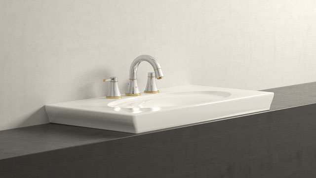 GROHE GRANDERA L-TAILLE + Villeroy&Boch LaBelle
