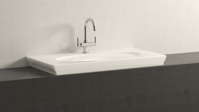 GROHE Atrio L-SIZE + Villeroy&Boch LaBelle