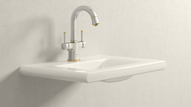 GROHE GRANDERA L-ГАБАРИТЫ + Laufen Living Style