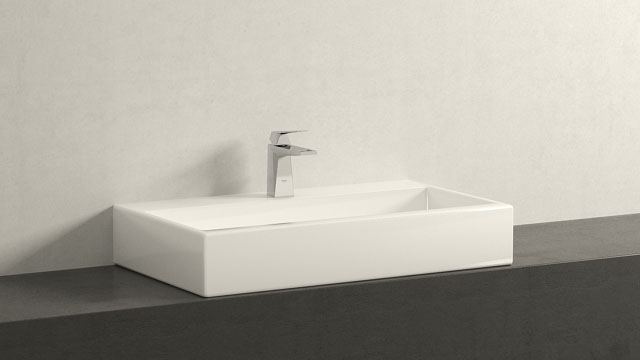 GROHE Allure Brilliant M-SIZE + Laufen Living City
