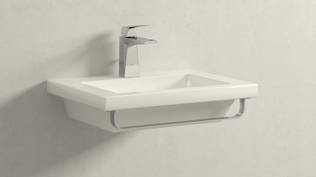 GROHE Allure Brilliant MWIELKOŚĆ + Laufen Living Square
