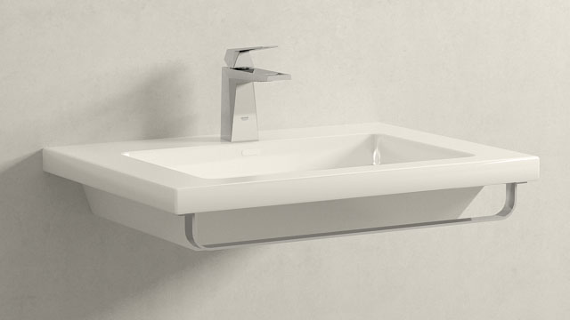 GROHE Allure Brilliant M-TAILLE + Laufen Living Square