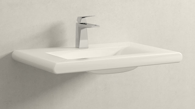 GROHE Allure Brilliant MΜΕΓΕΘΟΣ + Laufen Living Style