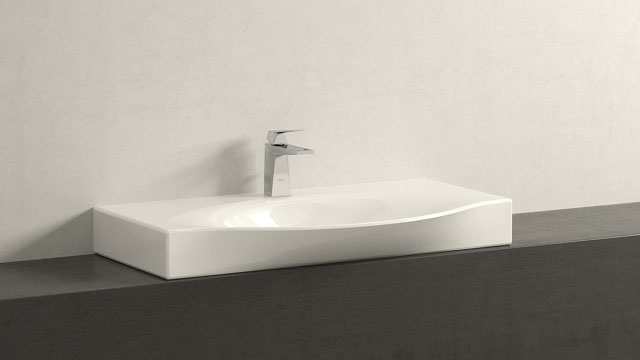 GROHE Allure Brilliant MΜΕΓΕΘΟΣ + Laufen Palace