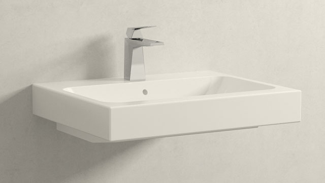 GROHE Allure Brilliant S-SIZE + Keramag iCon