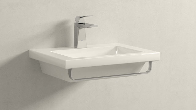 GROHE Allure Brilliant S-TAILLE + Laufen Living Square