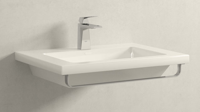 GROHE Allure Brilliant SWIELKOŚĆ + Laufen Living Square