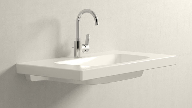 GROHE Eurostyle Cosmopolitan L-SIZE + Burgbad Max2