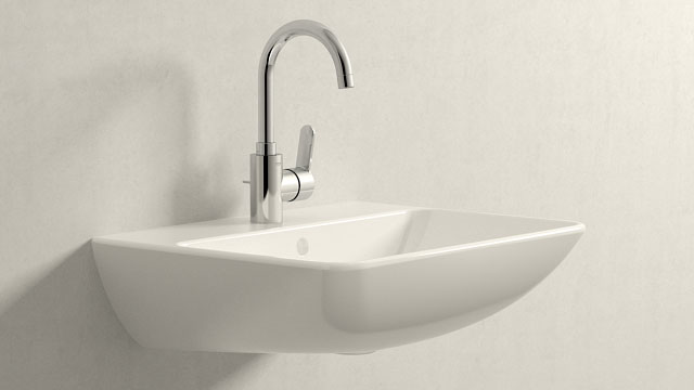 GROHE Eurostyle Cosmopolitan L-ГАБАРИТЫ + Duravit ME by Starck