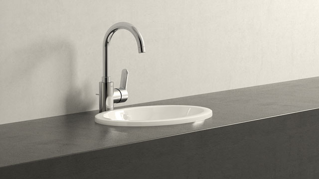 GROHE Eurostyle Cosmopolitan L-ГАБАРИТЫ + Villeroy&Boch Loop & Friends