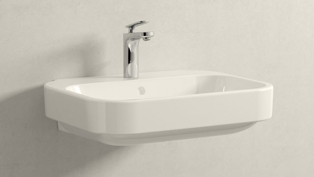 GROHE Veris S-TAILLE + Duravit Happy D.2