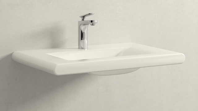 GROHE Veris S-SIZE + Laufen Living Style