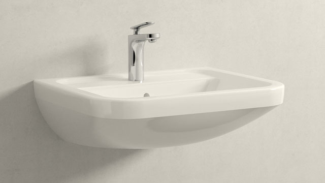 GROHE Veris S-TAILLE + Villeroy&Boch Omnia architectura