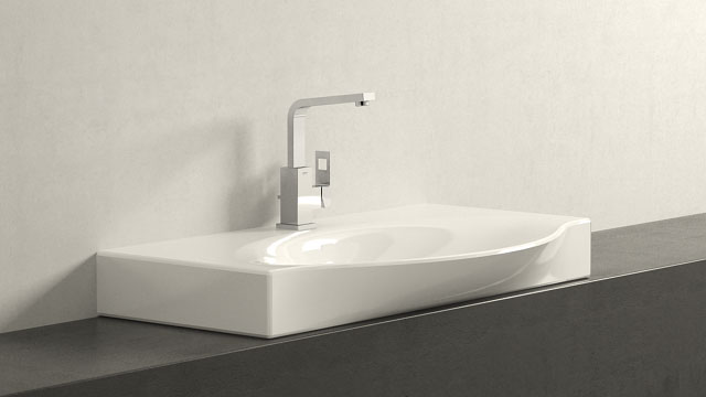 GROHE Eurocube L-TAILLE + Laufen Palace