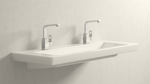 GROHE Eurocube L-VELIKOST + Villeroy&Boch Subway 2.0