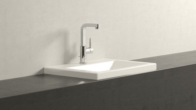 GROHE LINEARE L-VELIKOST + Duravit 2nd floor