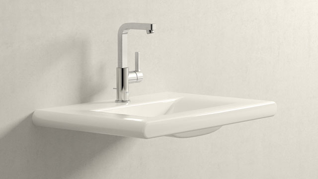 GROHE LINEARE L-VELIKOST + Laufen Living Style