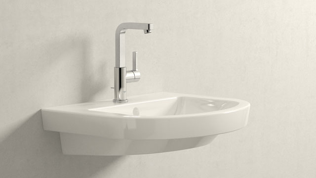 GROHE LINEARE L-VELIKOST + Villeroy&Boch Subway 2.0