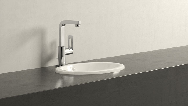 GROHE Quadra L-SIZE + Villeroy&Boch Loop & Friends