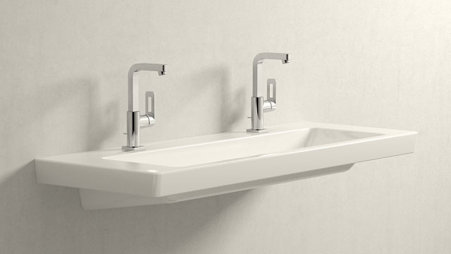 GROHE Quadra L-VELIKOST + Villeroy&Boch Subway 2.0