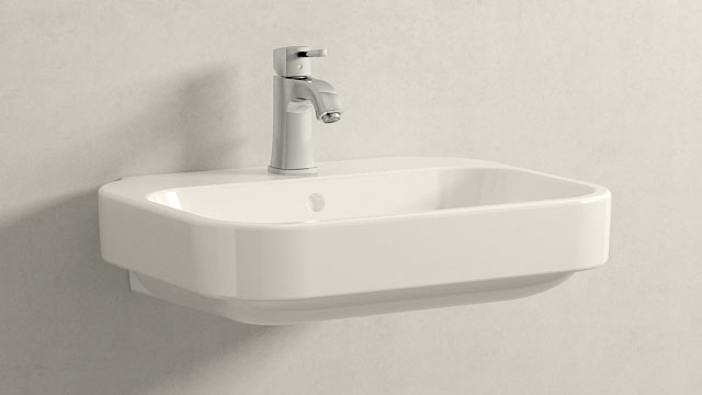 GROHE Grandera S-ГАБАРИТЫ + Duravit Happy D.2