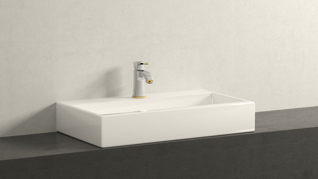 GROHE GRANDERA SΜΕΓΕΘΟΣ + Laufen Living City