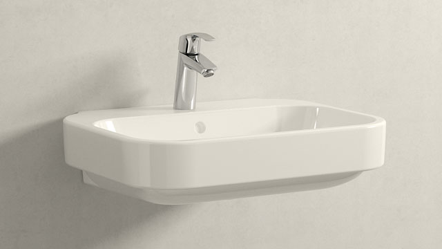 GROHE Eurosmart NEW M-TAILLE + Duravit Happy D.2
