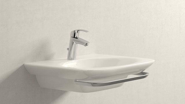 GROHE Eurosmart NEW M-TAILLE + Laufen Palace