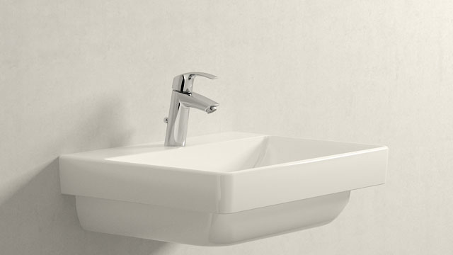 GROHE Eurosmart NEW M-TAILLE + Laufen Pro S
