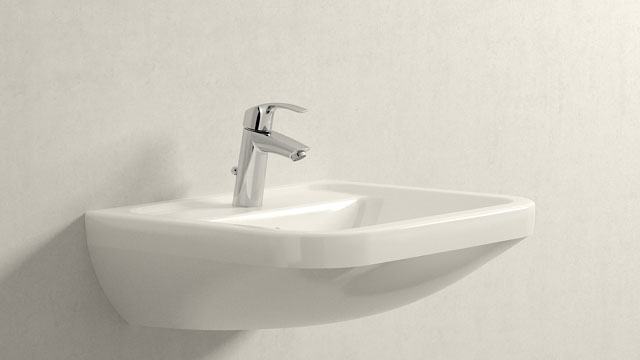 GROHE Eurosmart NEW M-TAILLE + Villeroy&Boch Omnia architectura