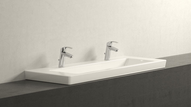 GROHE Eurosmart NEW M-TAILLE + Villeroy&Boch Subway 2.0