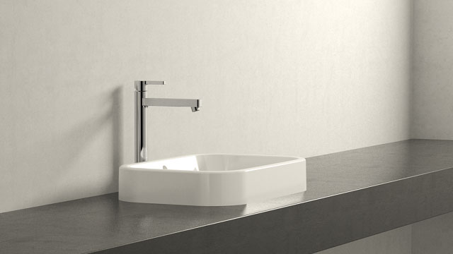 GROHE LINEARE XL-SIZE + Duravit Happy D.2
