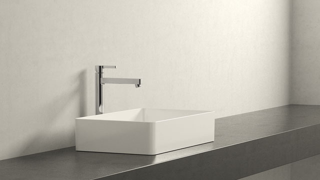 GROHE LINEARE XL-VELIKOST + Laufen Living Square